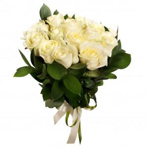 Bukiet kremowych róż